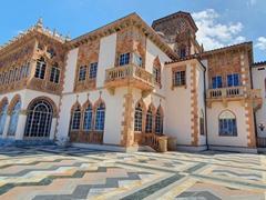 The Ca' d'Zan was modeled on the Venetian palazzos of Venice; Sarasota