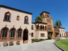 Ca' d'Zan was the winter home of circus owner John Ringling