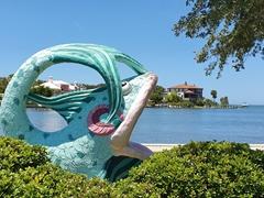 Fish art; Sarasota