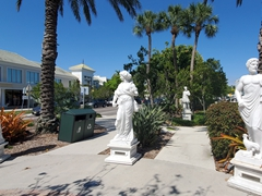 Statues of St Armands Circle; Sarasota