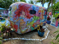 Colorful trailer; Matlacha