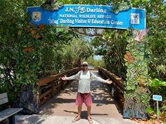 "Robby at the J.N. ""Ding"" Darling National Wildlife Refuge; Sanibel Island"