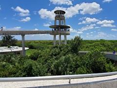 Shark Valley observation tower; Everglades