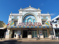 The Strand Theater on Duval Street; Key West