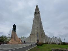 Hallgrimskirkja church; Reykjavík