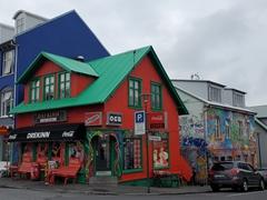 Fast food restaurant Drekinn (the dragon); Reykjavík