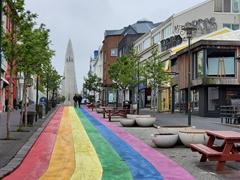 Rainbow street to celebrate gay pride in Reykjavík