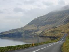Pretty coastline on the drive from Reykjavík to Glymur waterfall