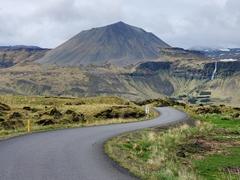 A curvy road on the Snæfellsnes Peninsula