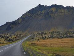 Stunning roadside scenery on the Snæfellsnes Peninsula