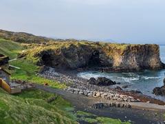 Hellnar, a tiny hamlet on the Snæfellsnes Peninsula
