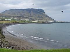 The tiny coastal town of Ólafsvík