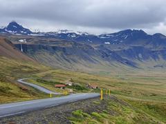 Spectacular drive on the Snæfellsnes Peninsula