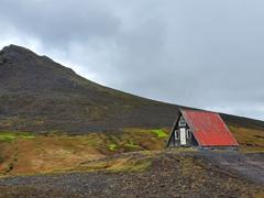 Emergency mountain hut; Snæfellsnes Peninsula