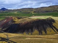 Grabrokarfell crater