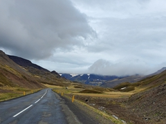 Gorgeous scenery on our drive to the Westfjords
