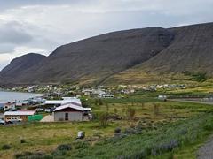The pretty fjord town of Patreksfjörður