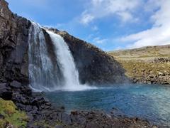 Roadside waterfall off road 63