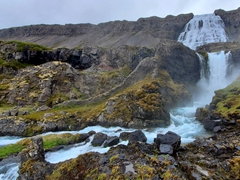The largest waterfall in the Westfjords, Dynjandi is a sight to behold