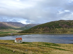 Emergency hut; Westfjords
