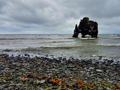 Hvítserkur, a 15m (45 foot) basalt stack on the Vatnsnes Peninsula
