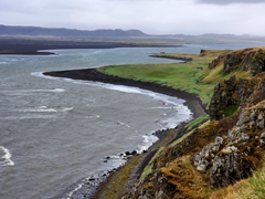 Eastern shore of the Vatnsnes peninsula