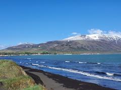 Black beach of Sauðárkrókur