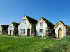 Glaumbær historic turf roof farm
