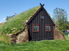 Víðimýrarkirkja turf church in North Iceland