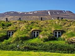 Rear view of Nýibær; Hólar