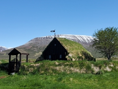 Grafarkirkja is Iceland's oldest turf church