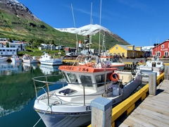Siglufjörður's picturesque harbor