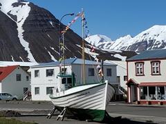 Fishing vessel in Ólafsfjörður