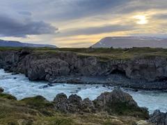 The Skjálfandafljót river near Goðafoss
