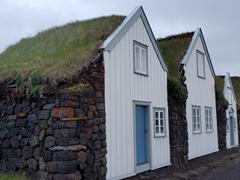 The famous turf farm of Grenjaðarstaður