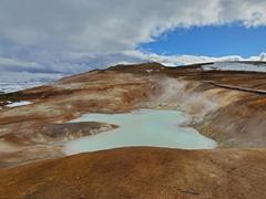 Sulfur spring; Leirhnjúkur