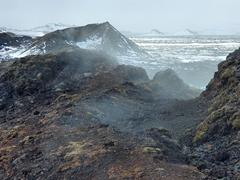 Hófur crater; Leirhnjúkur