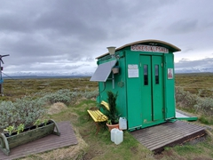 A solar powered vending machine on Rte 94 - one of east Iceland's must see stops!