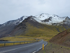 Gorgeous scenery on our drive through the East Fjords