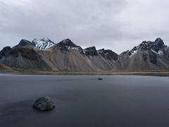 Another vantage point of Vestrahorn Mountain