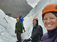 We had a great time on our 5.5 hour glacier tour of Falljökull glacier led by Artic Adventures guide Mark McInerney