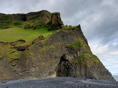 Hálsanefshellir Cave on Reynisfjara Beach