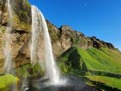 Seljalandsfoss waterfall - quite possibly Iceland's prettiest waterfall