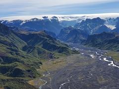 Þórsmörk panorama view