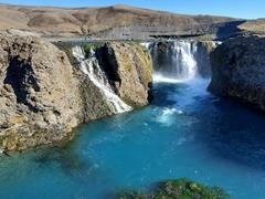 Sigöldufoss waterfall