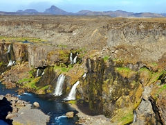 """Sigöldugljúfur Canyon in the highlands is also known as the """"Valley of Tears"""""""