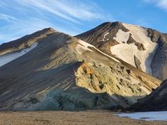 Bláhnjúkur (blue peak) Volcano; Landmannalaugar