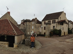 Panoramic view of mom and dad in Dornecy