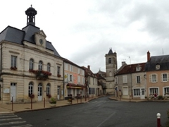 Panoramic view of Coulanges-sur-Yonne
