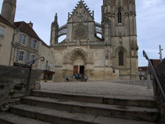 Another view of St Martin Church; Clamecy